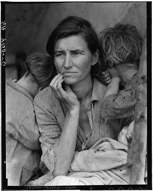 Migrant Mother - Photo by Dorothea Lange